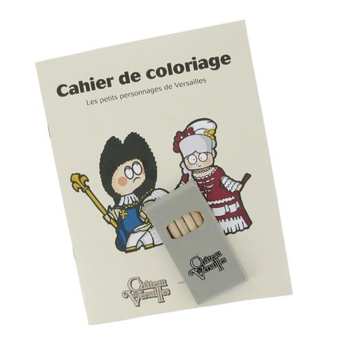 Cahier de coloriage de Versailles