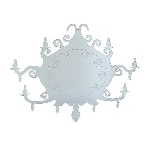 Baroque mirror candlestick