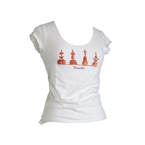 Tee-shirt Femme ligne «Topiaires»