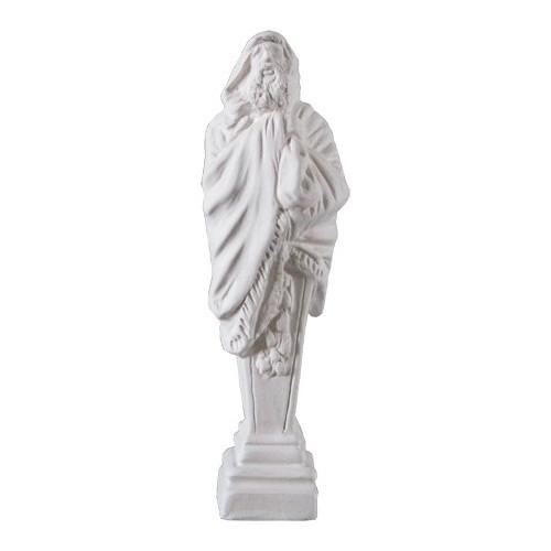Santon statue hiver