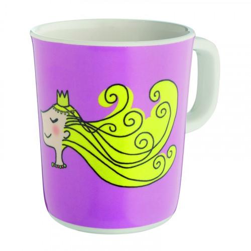 """Mug princesse """"les bonnes manières"""" - rose"""