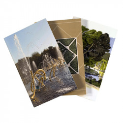 "Set of 3 notebooks ""Water Theatre grove"""