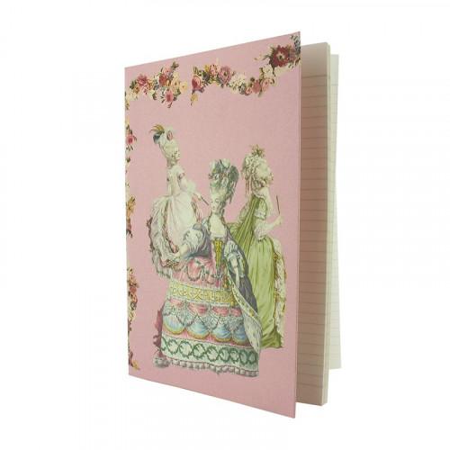 Cahier gravures de mode - Marie-Antoinette