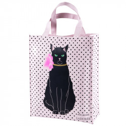 Large Duchesse Pink Dot Shopping Bag