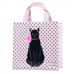 Small Duchesse Pink Dot Shopping Bag