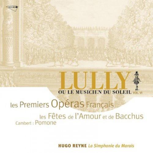 CD Les premiers opéras français Lully volume VI