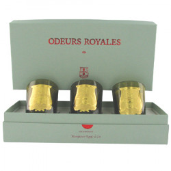 Gift box of 3 ?Royal Scents? candles