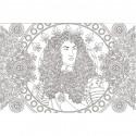 Cahier de coloriages Louis XIV