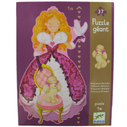 ?Princess Barbara? giant 37-piece jigsaw puzzle