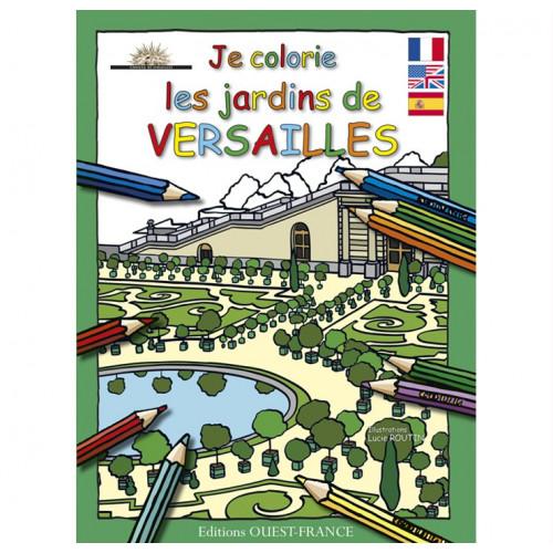 Je colorie les jardins de Versailles