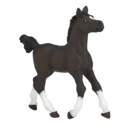 Figurine cheval arabe