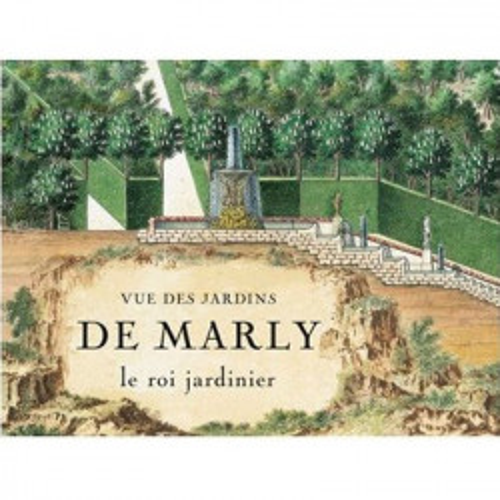 Vue des jardins de Marly