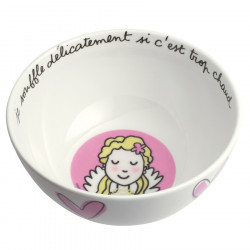 """Good Manners"" princess bowl - I breath gently"