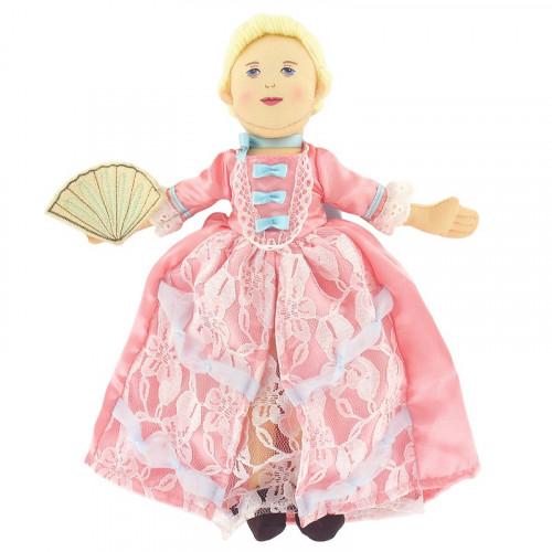 Poupée tissu Marie-Antoinette