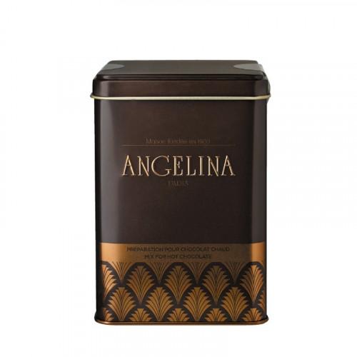 """Préparation pour chocolat chaud """"Angelina"""" à l'ancienne  - en boîte"""