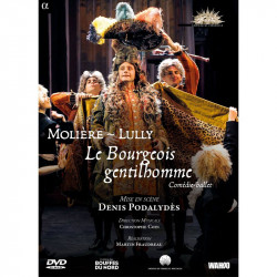 DVD Le Bourgeois Gentilhomme Lully