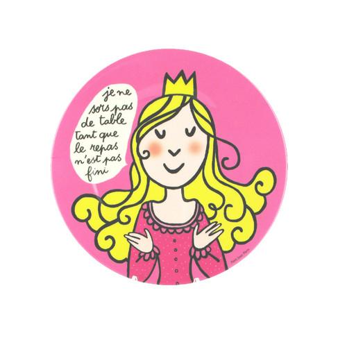 Assiette Princesse « Les bonnes manières »