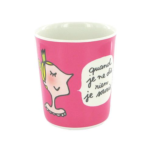 Mug Princesse «Les bonnes manières»