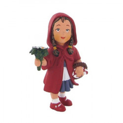 Figurine of Little Red Riding Hood