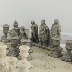 Gardens of Versailles chess set