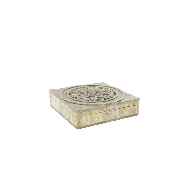 Boîte en Pierre sculptée
