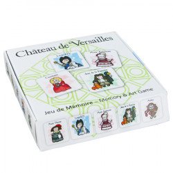 Memory game: famous figures of Versailles