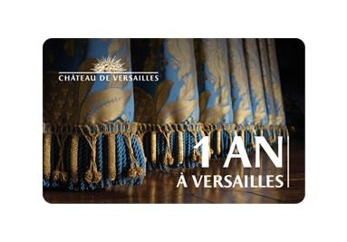 """Offrez la carte """"1 an à Versailles"""""""