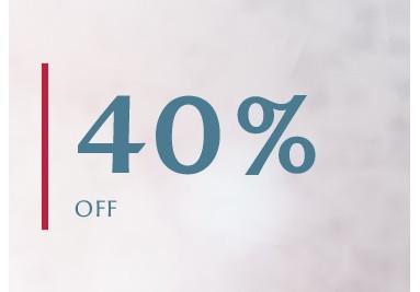 NOTRE SÉLECTION À -40%