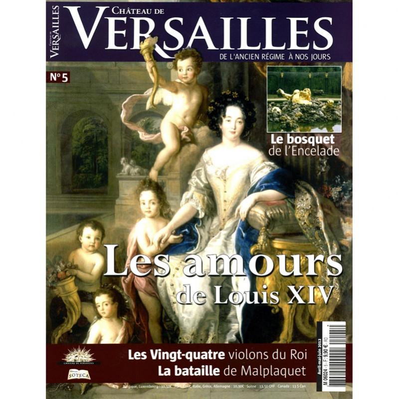 N°5 du magazine Château de Versailles