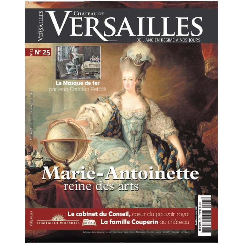 Magazine Château de Versailles de l'ancien régime à nos jours n°25