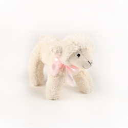 """Marie-Antoinette"" cuddly toy sheep"