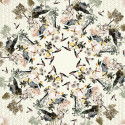 """Scarf """"Royal Menagerie"""" Light"""