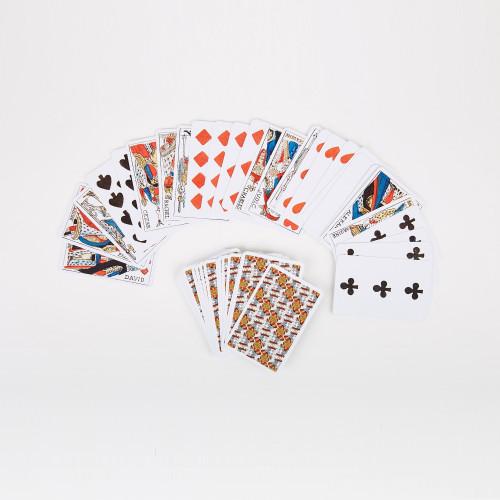 Jeu historique de 52 cartes
