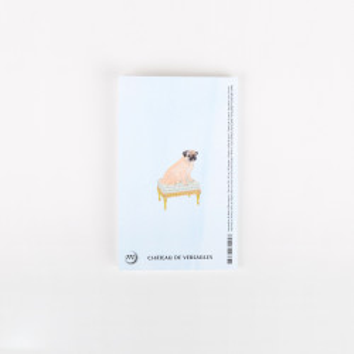 "Small notebook ""Bonjour Versailles"""