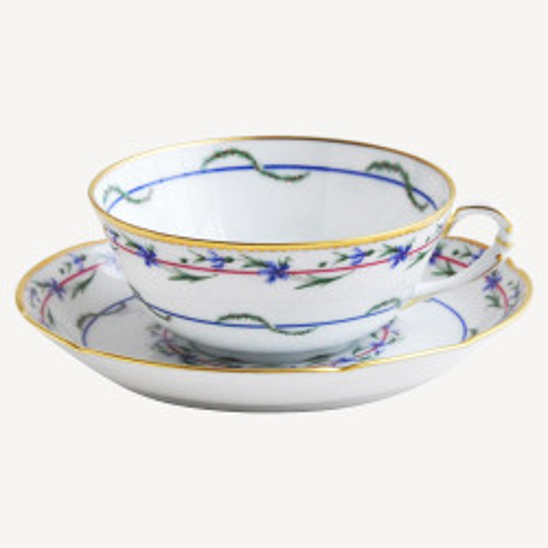 Tasse et soucoupe à thé - Le Gobelet du Roy