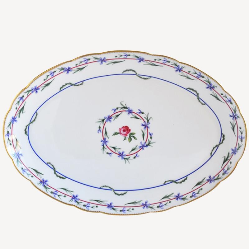 Plat ovale 38 cm - Le gobelet du roi