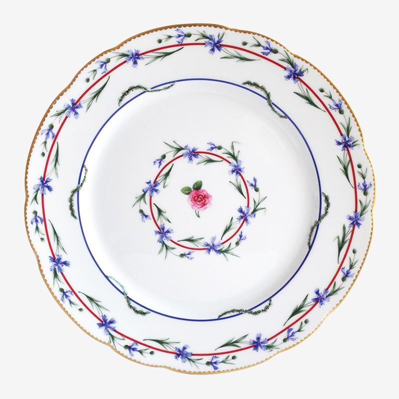 Assiette à dîner - Le gobelet du roi