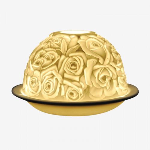 Lithophanie «bouquet de roses»