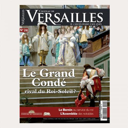 Magazine Château de Versailles, de l'Ancien Régime à nos jours N°24