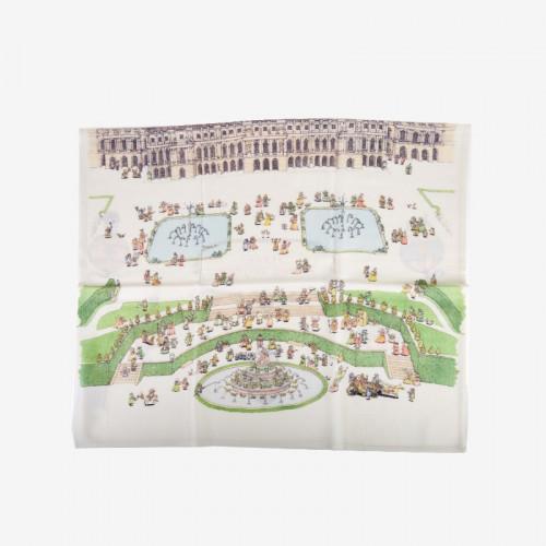 Cashmere blanket Versailles