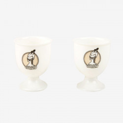 "Set of 2 ""Marie-Antoinette"" egg cups  - La Cocotte line"