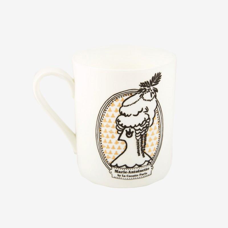 """Marie-Antoinette"" mug - La Cocotte line"