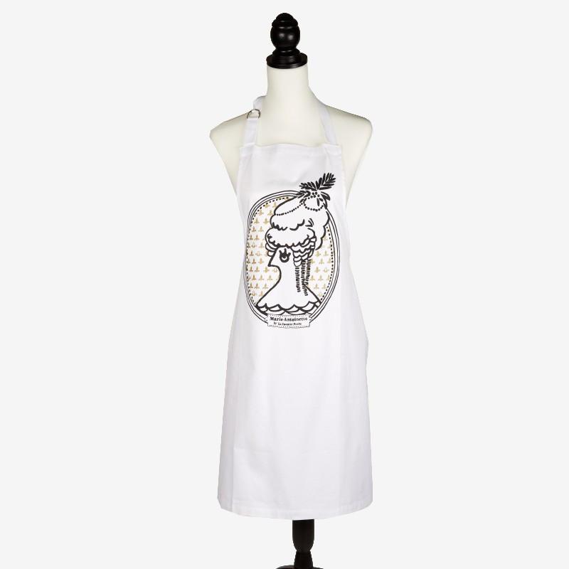 """""""Marie-Antoinette"""" apron - La Cocotte line"""