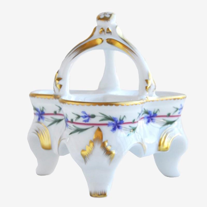 Salière-poivrière 3 compartiments - Le gobelet du roi