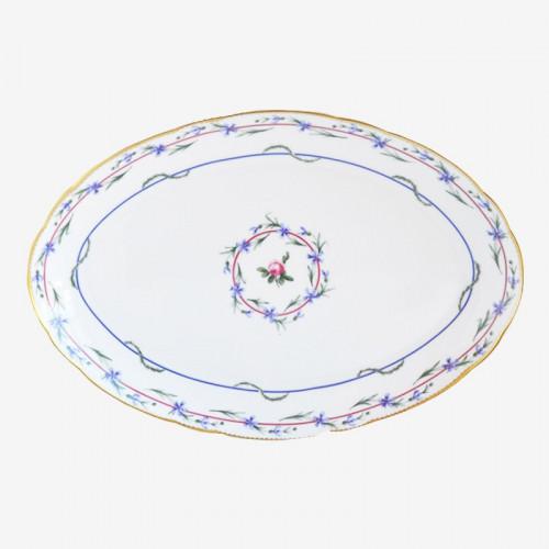 Plat ovale - Le gobelet du roi