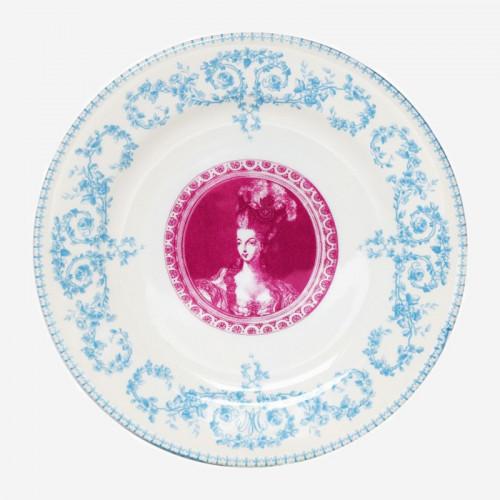 Assiette Dessert Marie-Antoinette