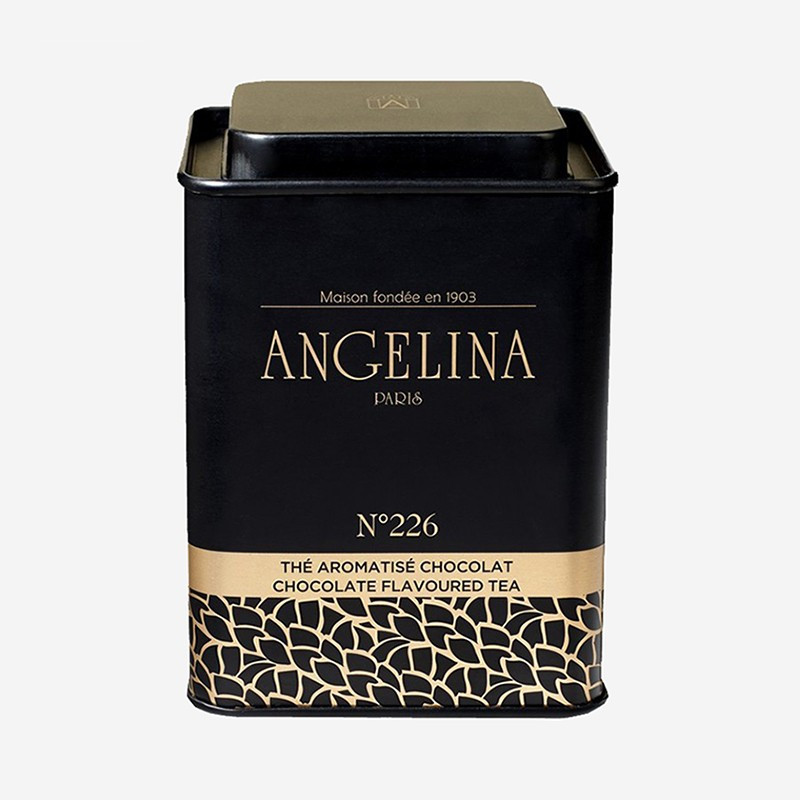 "Angelina ""Chocolat n°226"" flavoured tea"
