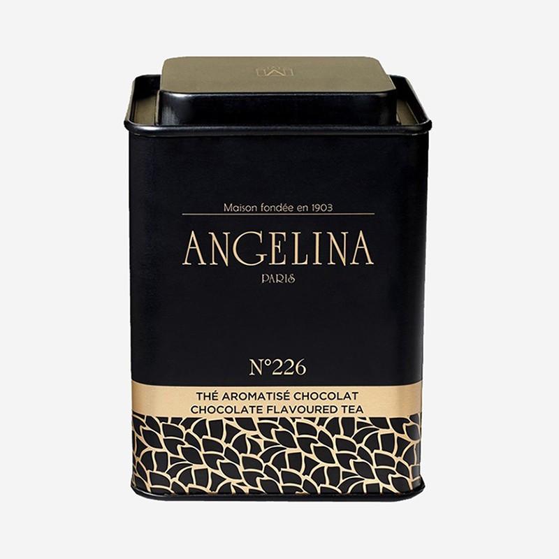 """Thé arômatisé chocolat n°226 """"Angelina"""""""
