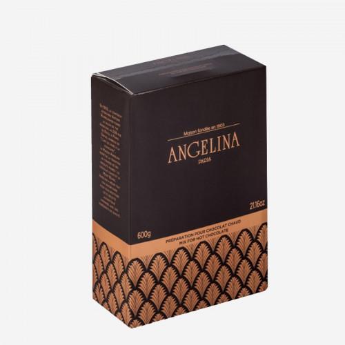 """Préparation pour chocolat chaud """"Angelina"""" à l'ancienne - en sachet"""