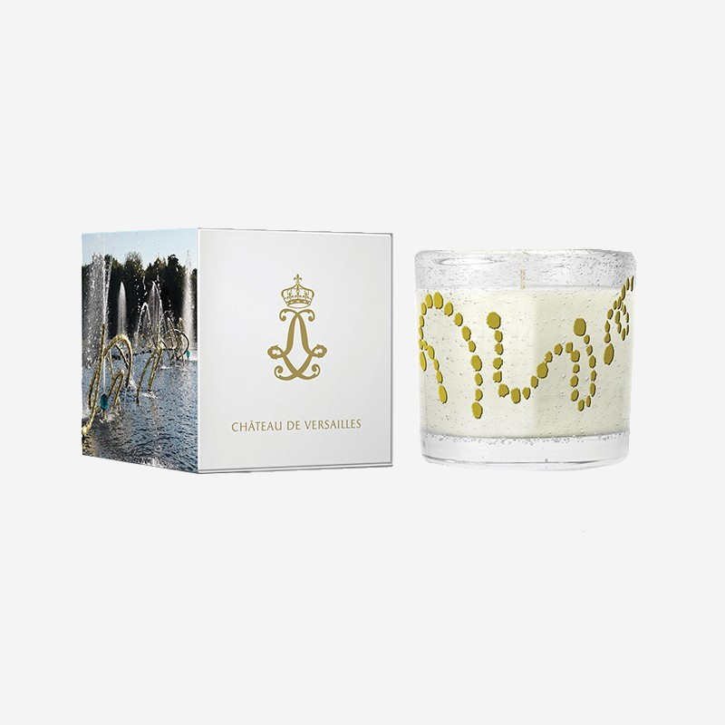 "Scented '""Palace of Versailles"" candle - The Water Theatre"